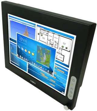 15 inch Sunlight Readable Rugged LCD Display