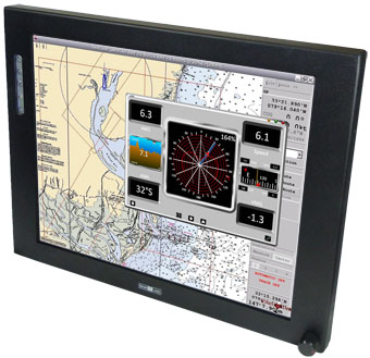 17 inch Marine/Vehicle LCD Display