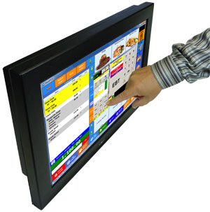 "21.5"" rugged sealed LCD Display"